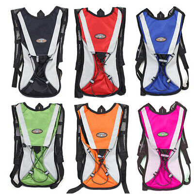 AU18.50 • Buy Hiking Camping Cycling Running Hydration Pack Backpack Bag + 2L Water Bladder