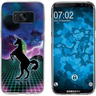 Case For Samsung Galaxy S8 Silicone Case Retro Wave M2 Cover • 8.90£