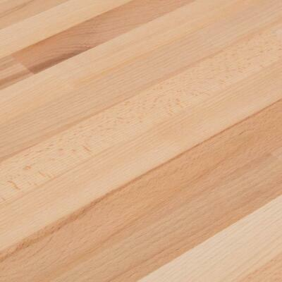 Real Solid Beech Worktop Free 4m Upstand Real Wooden Timber Worktops • 260£