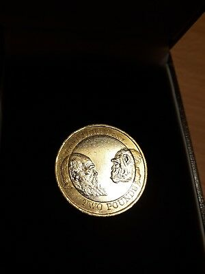 £350 • Buy Charles Darwin 2 Pound Coin  £2 Rare Coin Hunt 2009 Circulation Collectable