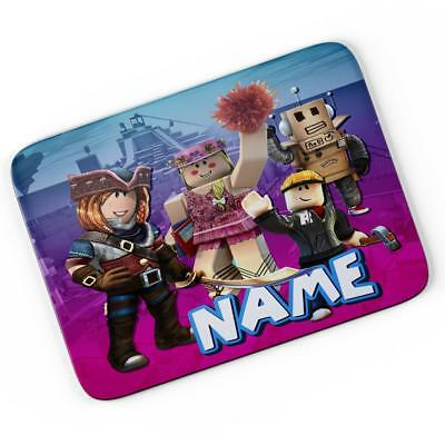 Personalised Roblox Game Mouse Mat Pad Computer Gaming Gift Boys Girls RB03 • 7.95£