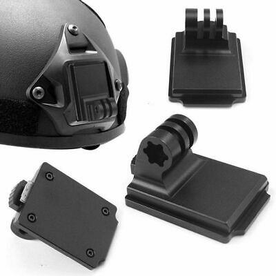 Aluminum Fixed Helmet Mount For Camera Gopro Hero 5 4 3 3+ 2 1 NVG Mount Base US • 11.70$
