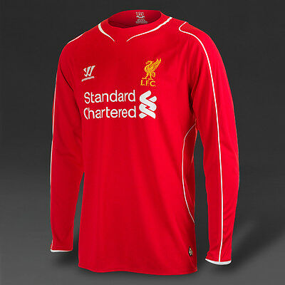 £34.79 • Buy Warrior Liverpool Fc - Home Shirt LONG SLEEVE 2014-15 SIZE S