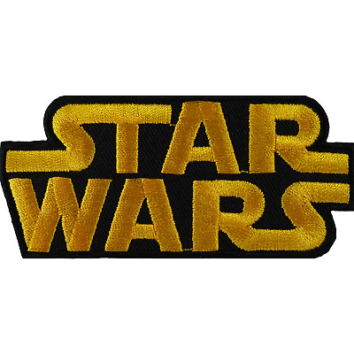 Star Wars Patch Embroidered Badge Iron On Sew On Clothes T Shirt Bag Fancy Dress • 2.79£