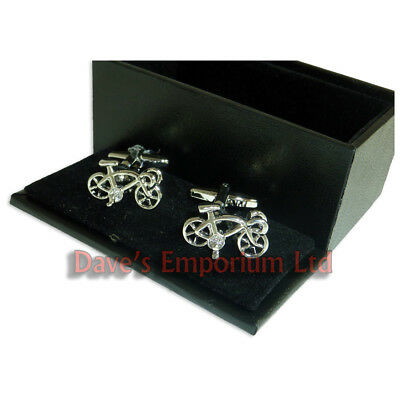 £9.99 • Buy Racing Bike Cufflinks - Gift Boxed - Cyclist Cycle Bicycle Gift Cuff Link