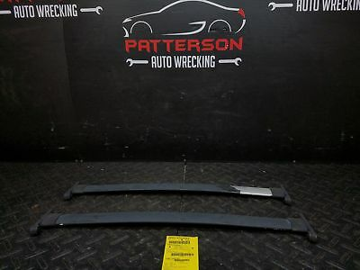 $65 • Buy 2002 FORD EXPLORER Roof Luggage Rack Cross Center Rail Bars Pair ONLY Scuffed
