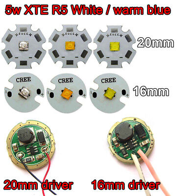 1x10W High Power CREE XML T6 U2 Cold White LED Emitter Diode Chip with 16mm 20mm