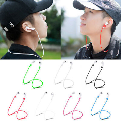 $ CDN2.61 • Buy For Apple AirPods Silicone Anti-lost Neck Strap Wireless Earphone String Rope Rs