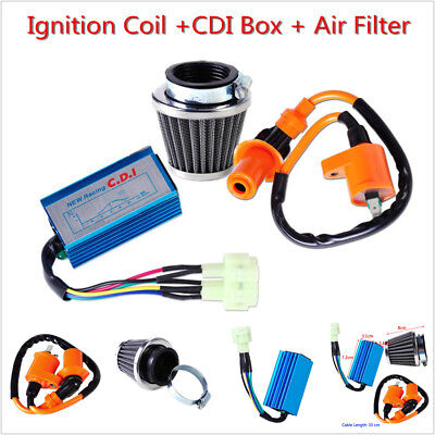 Racing Ignition Coil CDI Air Filter For GY6 50cc 125cc 150cc Scooter ATV Moped • 17.95$