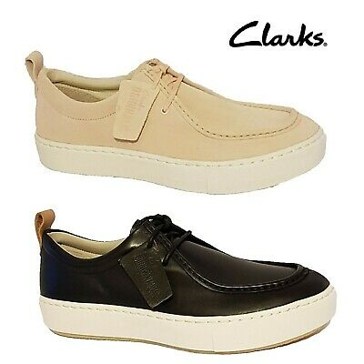 £34.99 • Buy Clarks Originals Priddy Walla Black Pink Suede Leather Wallabees Loafers Shoes