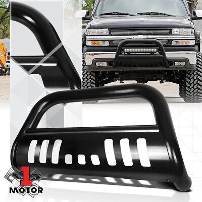 $107.89 • Buy Black 3  Bull/Push Bar Brush Guard For 99-07 Silverado/Sierra/Tahoe/Yukon 1500