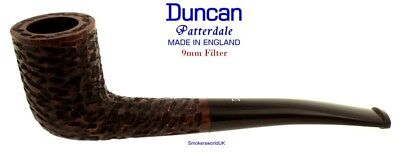AU65.58 • Buy Duncan Briars Patterdale 9mm Filter Rustic Curved Zulu Pipe C NEW England