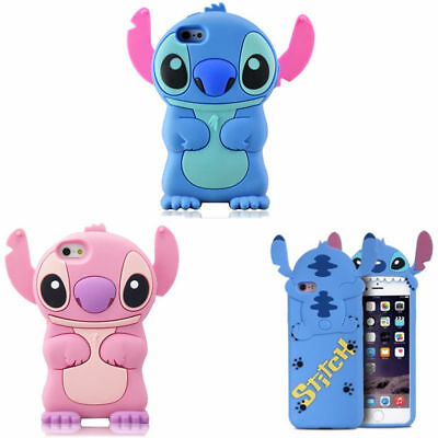 3D Stitch Soft Phone Case For IPhone XS Max XR XS 5 6 7 8 Samsung S8 S9 S10 • 3.79£