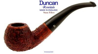 AU65.58 • Buy Duncan Briars Kentdale 9mm Filter Rustic Bent Apple Pipe A NEW Made In England