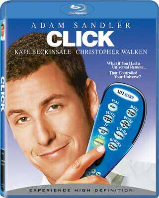 AU25.95 • Buy Click (Adam Sandler Kate Beckinsale Christopher Walken) Blu-ray Region B New