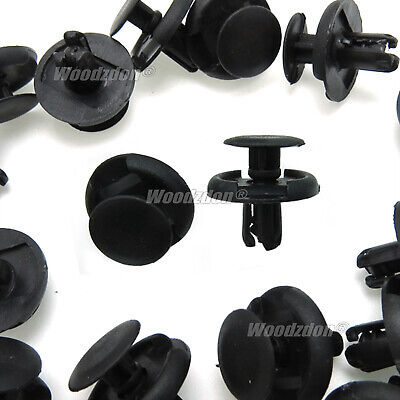 $6.97 • Buy 100 Fender Splash Shield Clips Push Pin Fastener Retainer For Suzuki For Mazda