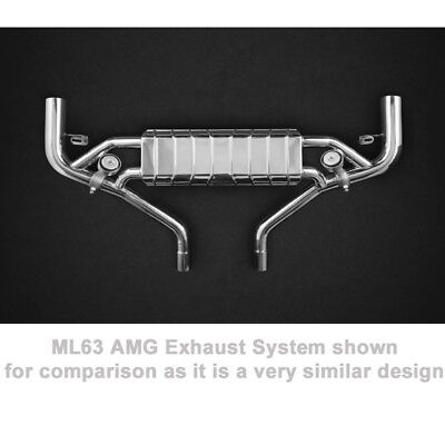 $7410 • Buy Capristo Mercedes GL63 & GLS63 AMG S W166 Valved Exhaust System + Remote