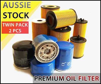 AU29 • Buy Oil Filter Z334 Fits TOYOTA Landcruiser 70 80 100 1HZ Diesel Prado KZJ120 2PCS
