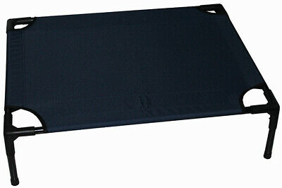 AU20 • Buy Raised Dog Pet Bed Medium Navy Trampoline Bed 76cm X 61cm X 18cm
