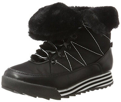 BLACK Rocket Dog Icee Furry Winter Boots UK 5 / EU 38 HiTops Trainers Snow Boots • 35£