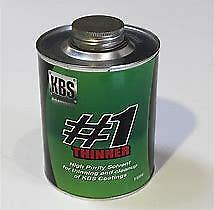 AU19.95 • Buy Kbs #1 Thinner 1l Cleaner For Rustseal, Blacktop  (6400)
