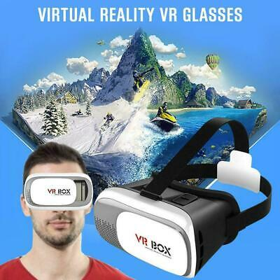AU16.95 • Buy VR Headset VR BOX Virtual Reality Glasses 3D For Samsung Iphone X 8 7 Plus