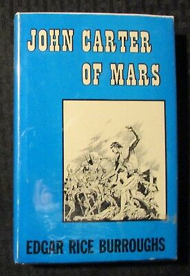 $125.25 • Buy 1964 JOHN CARTER OF MARS By Edgar Rice Burroughs HC/DJ FN+/VG+ 1st Canaveral