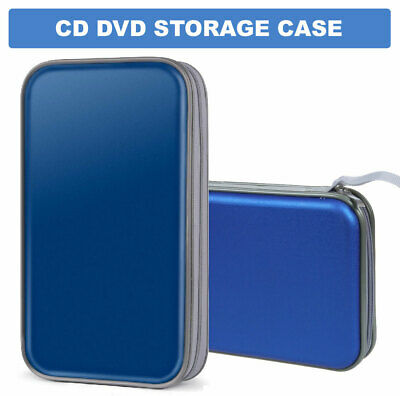 £7.29 • Buy 80 CD DVD Carry Case Cover Disc Storage Holder CD Sleeve Wallet Ideal Bag Boxes