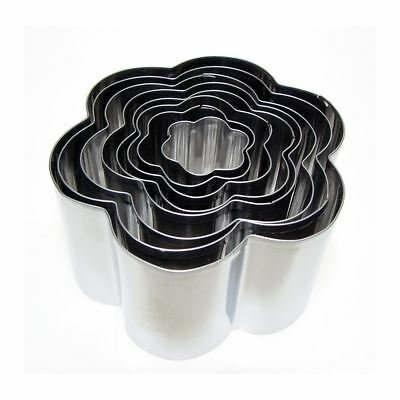Eddingtons Flower/Daisy Cookie Cutter Set Of 8 Pastry/Biscuit Metal Cutter • 8.95£