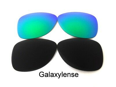 1725803a4b Galaxy Replacement Lenses For Oakley Dispatch 2 Sunglasses Black Green  Polarized • 13.48