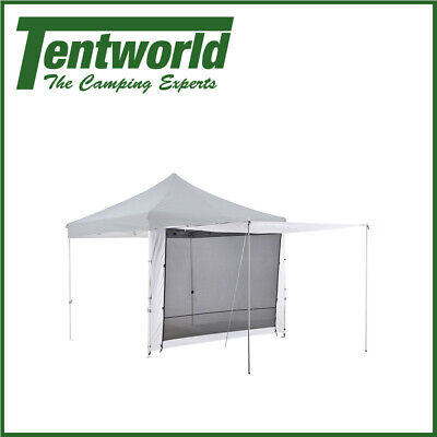 AU69.90 • Buy Oztrail Gazebo 2 Camping Tent Zip Door Wall Canopy Shade 3.0
