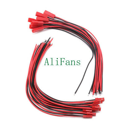 AU1.13 • Buy 5pairs 100mm JST SM 2Pins 2P Female Male Plug Connector Wire Cable For LED Strip