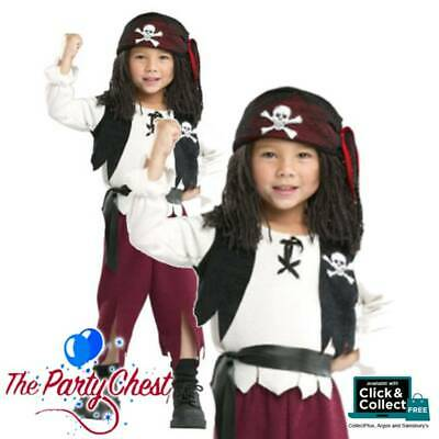 CAPTAIN PIRATE YARN BABIES COSTUME Book Week Childrens Kids Fancy Dress Outfit • 17.49£