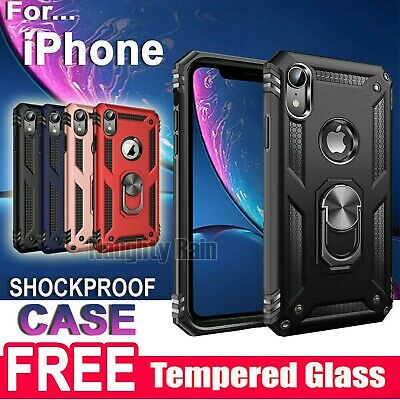 AU8.99 • Buy Shockproof Heavy Duty Case Cover For IPhone 6 6S 7 8 Plus 11 12 Pro XS Max XR X