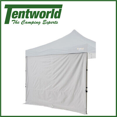 AU34.90 • Buy Oztrail Camping Tent Gazebo Solid Side Wall Canopy Centre Zip 3.0