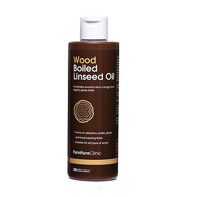 Boiled Linseed Oil - Bring Out The Grain & Natural Lustre Of Your Wood • 5.95£