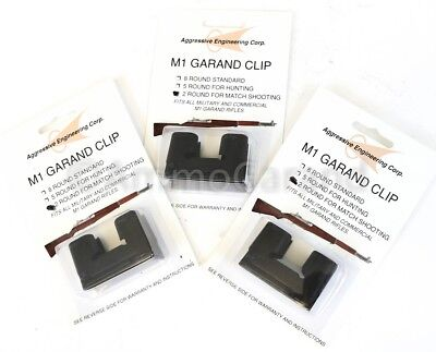 $8.95 • Buy 3ea Garand 2 Round Clips National Match For M1 New US 2rd Clip Parts 2 Rd