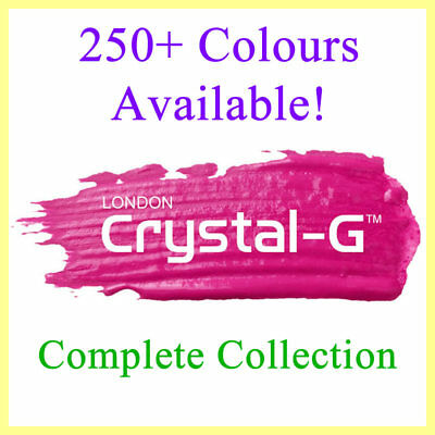 Crystal-g - 250 Plus Colours - Uv Led Gel Nail Polish Varnish - Full Collection • 2.99£