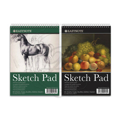 A3 Artists Easynote Sketch Pad - Quality Strong Paper 20 Pages Drawing Spiral • 5.99£
