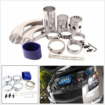 $71.24 • Buy Universal 3inch Cold Air Intake Filter Piping Intercooler Alumimum Set Combined