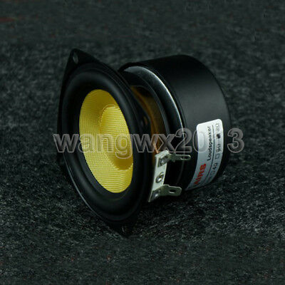 $ CDN45.43 • Buy 1pcs 3  Inch 78mm 8Ohm 25W Bass Audio Speaker Stereo Woofer Loudspeaker Horn