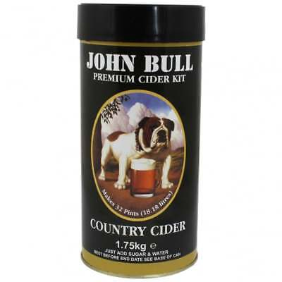 John Bull Home Brew Making Refill Ingredient Kit 40 Pints Country Apple CIDER • 19.50£