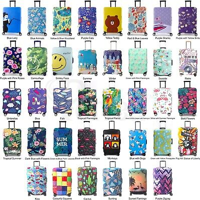 Periea Premium 3mm Thick Suitcase Cover Luggage Protector - 38 Designs - 3 Sizes • 9.99£