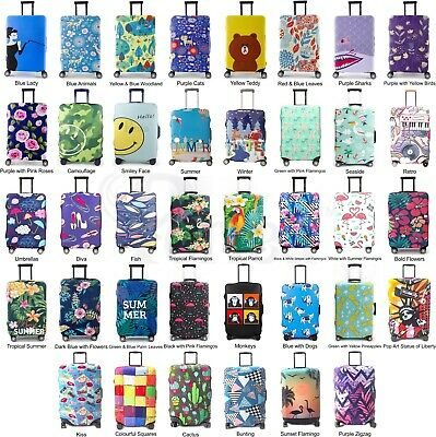 £8.99 • Buy Periea Suitcase Protector Cover 3mm Premium Material 3 Sizes Luggage Travel Bag