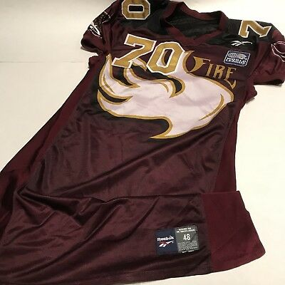 $ CDN793.02 • Buy NFL Europe Rhein Fire Jersey Reebok Size 48 XXL Team Issue Used RARE