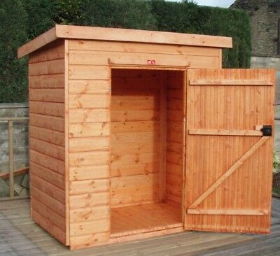 Pinelap 3x3 Wooden Tool Shed Fully T&G Garden Store 3FT X 3FT Outdoor Hut • 319.20£
