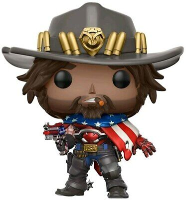 AU21.99 • Buy Overwatch - USA McCree US Exclusive Pop! Vinyl [RS]-FUN13308