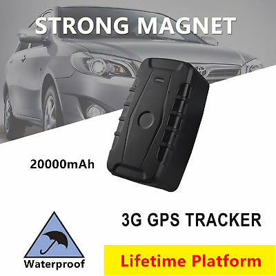 AU174.80 • Buy Magnet 3G GPS Tracker Waterproof Vehicle Car Yacht Tracking Device Anti-theft