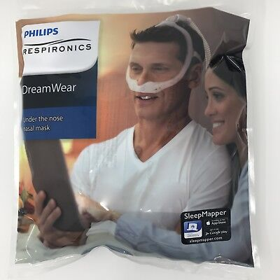 AU49.50 • Buy Phillips Respironics DreamWear Nasal  Cpap Cushion Sizes: Sml-Med- Med_Wide-Lge