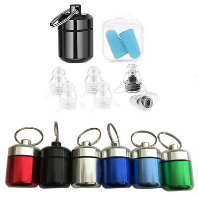 $1.65 • Buy Pill Tablets Contain Box Case Bottle Holder Waterproof Keychain Medicine Capsule